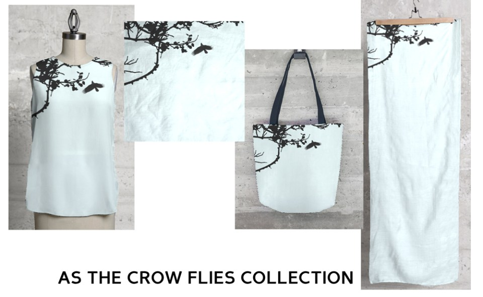 """As the Crow Flies"" collection."