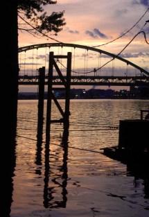 eveningonriver