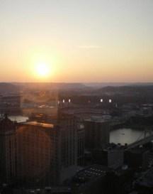 sunsetoverthecity