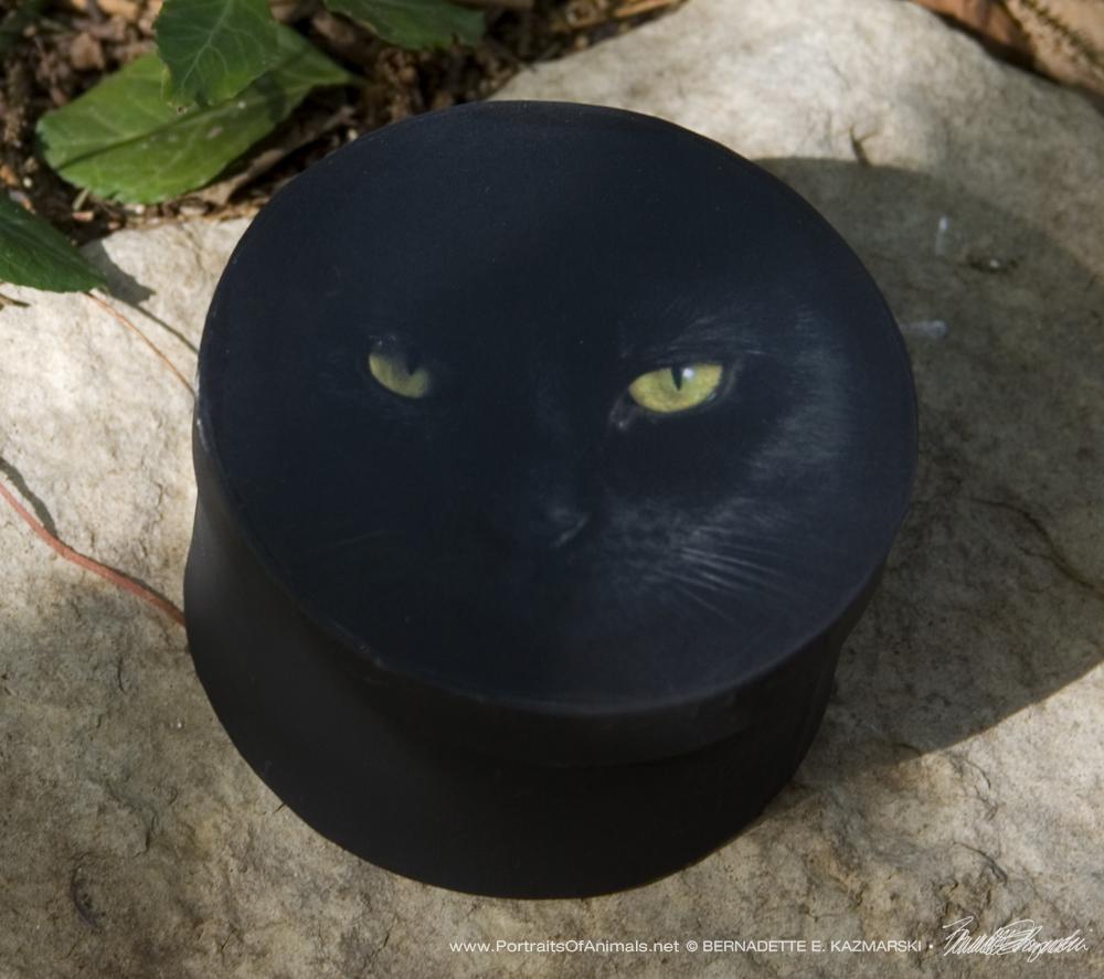 "Keepsake Box, ""The Eye Model"""