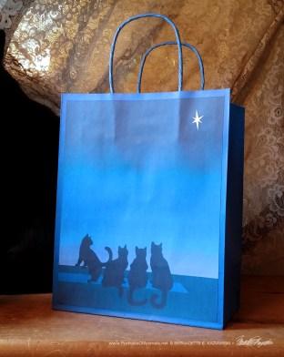 Star of Kittens Gift Bag