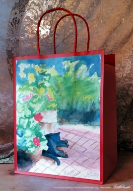 Garden Sketch With Mimi Daily Sketches Gift Bag