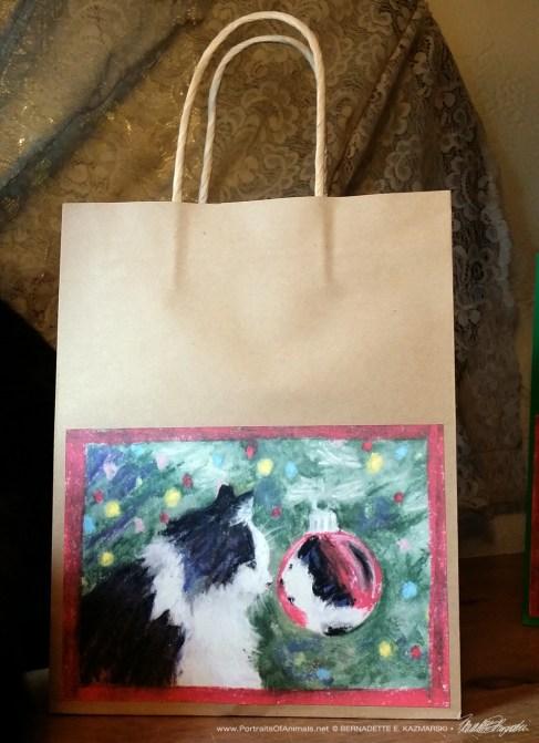 Sophie Gets a Look at Herself Gift Bag in kraft