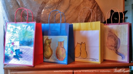 Daily Sketches Gift Bags