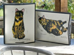 Tortie Girls trays, set.