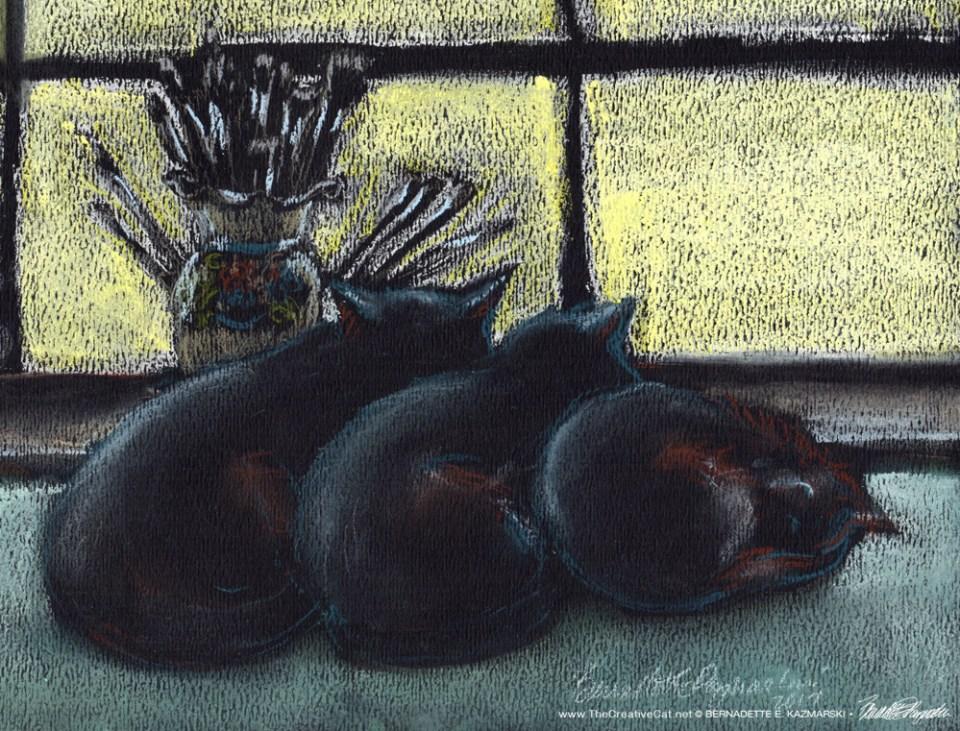 """""""Studio Morning Shift"""", detail © Bernadette E. Kazmarski"""