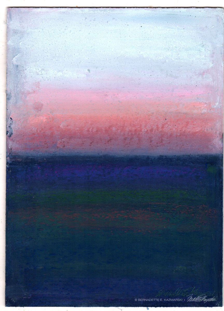 Winter Sunset, After Rothko, #30in30 Day One