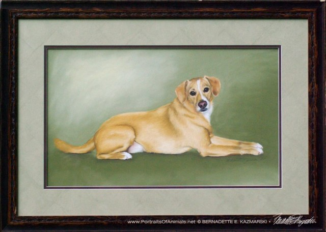 Buckwheat, framed original.