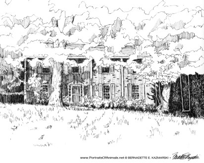 Our Parents' Home, ink, 2009.