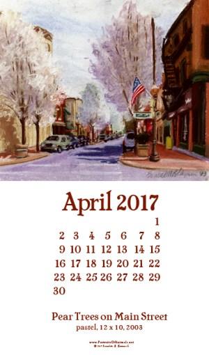 Desktop calendar, for 400 x 712 for mobile phones.