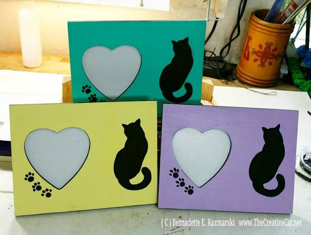Hearts and Cats frames