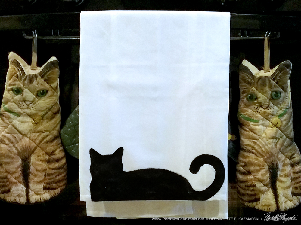 Bella! Flour Sack Dishtowel