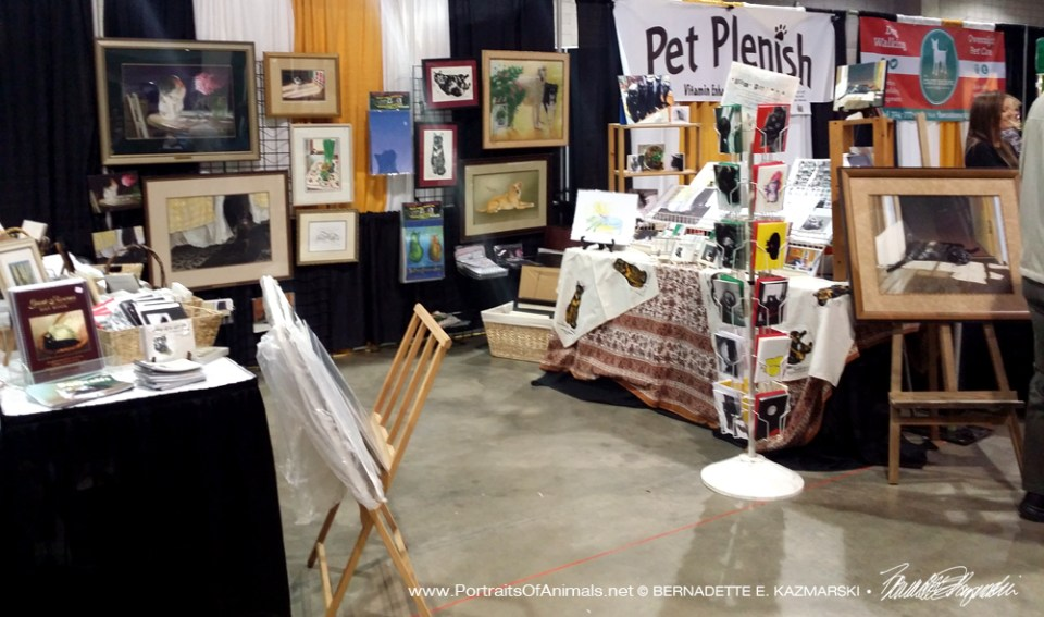 Pet Expo display.