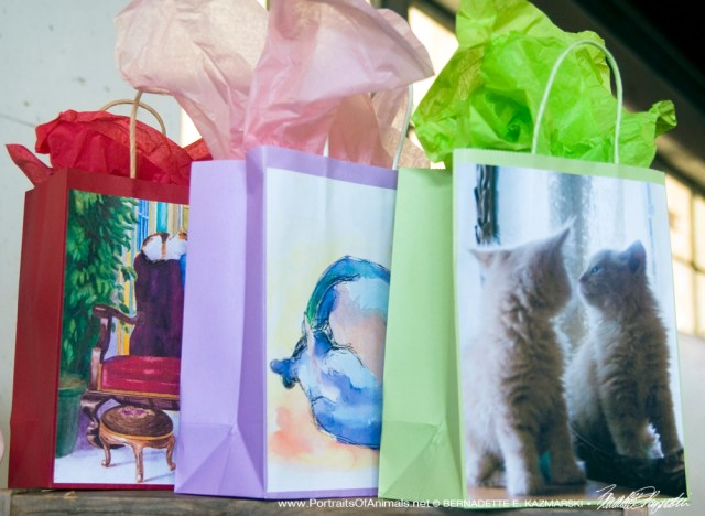 Gift bags.