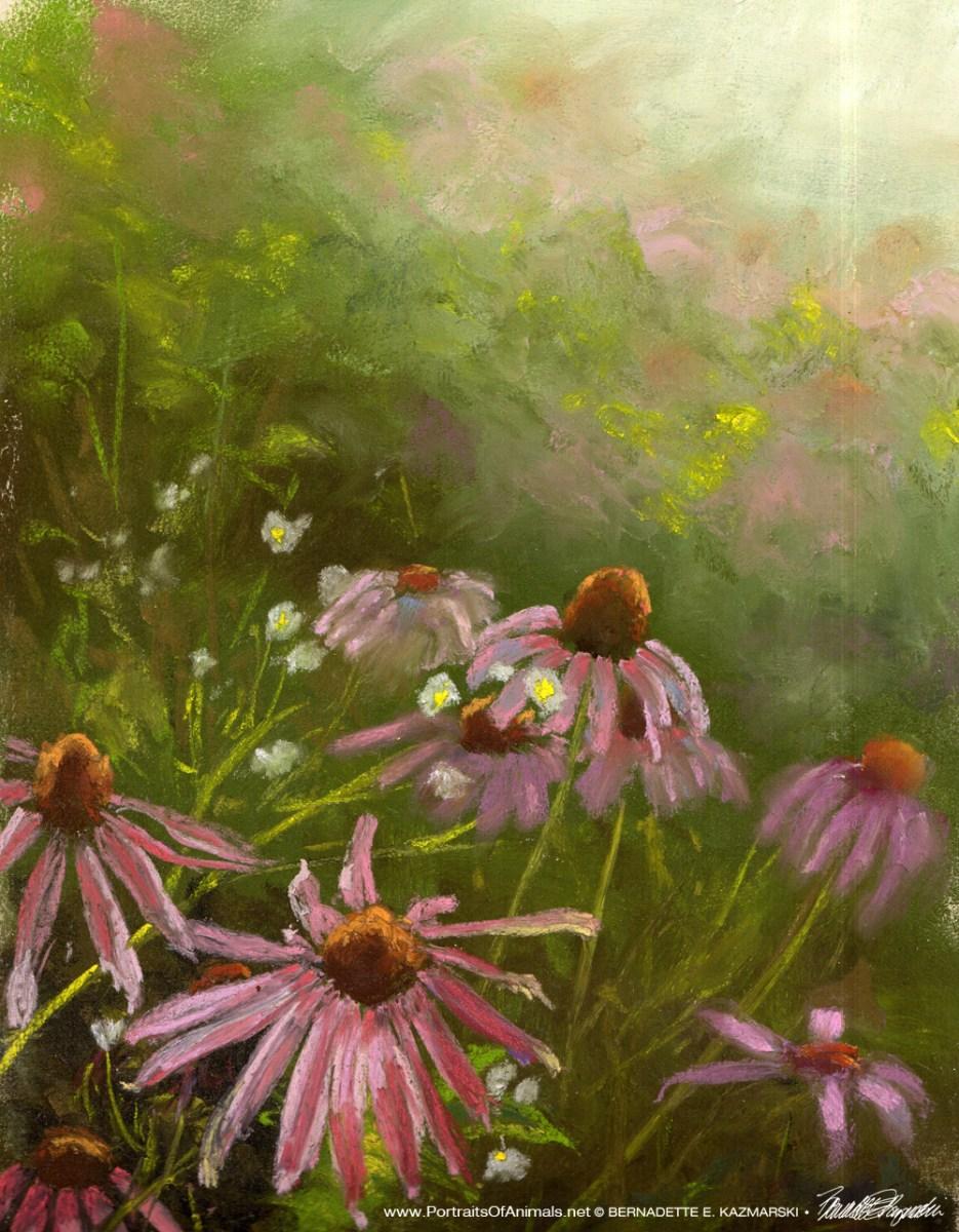 #30paintingsin30days, Day 18: Evening Wildflowers