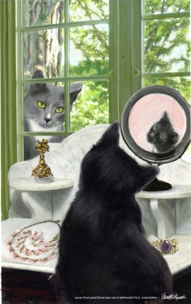 """Cover illustration for Klepto Cat Mystery """"The ImPAWssible Mission"""""""