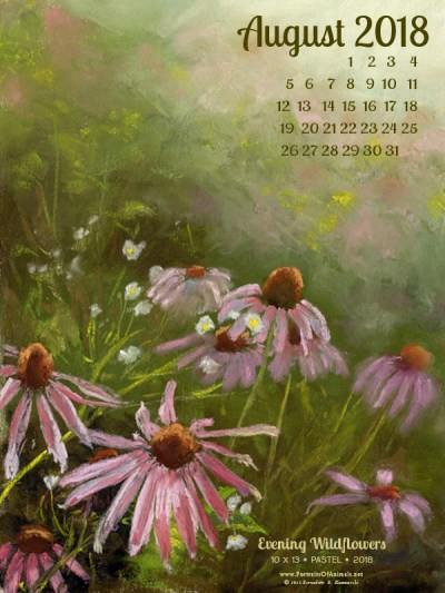 Desktop calendar, 600 x 800 for large mobile devices and tablets