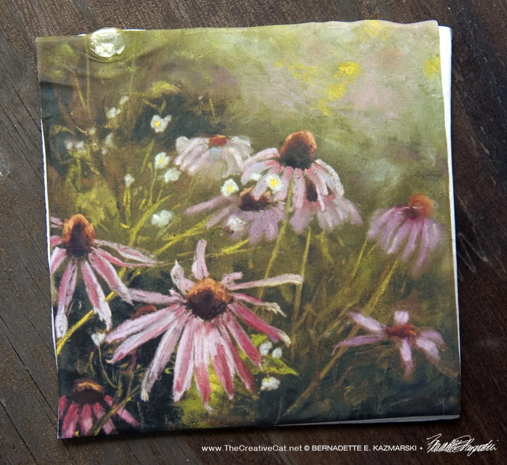 Evening Wildflowers Tile