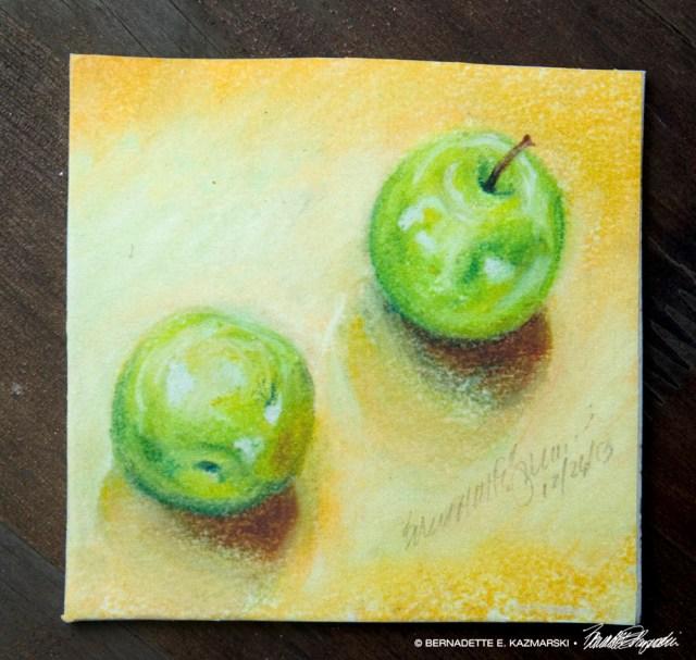 Afternoon Apples Tile