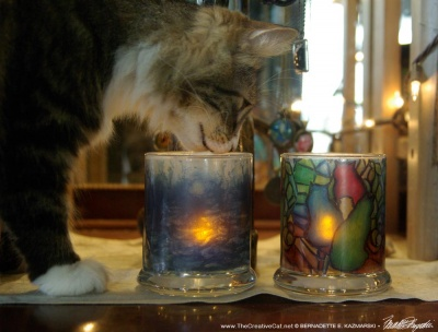 Mariposa approves these votives.
