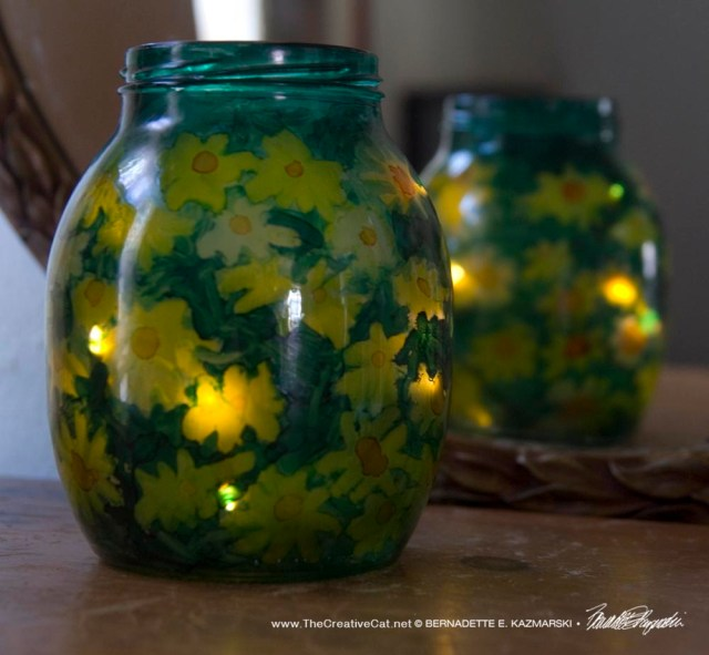 Woodland Sunflowers Votive