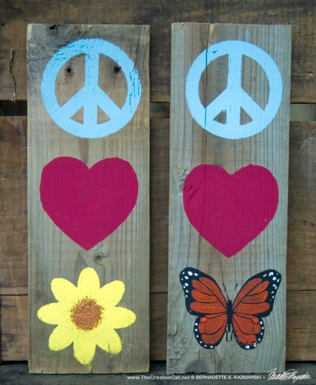 Signs of Peace and Love