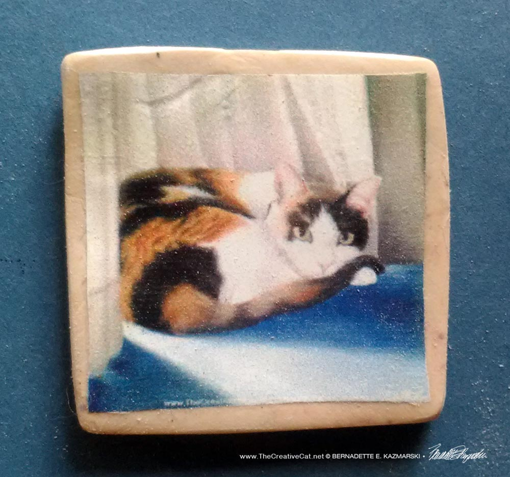 "Gypsy 1"" Square Magnet"