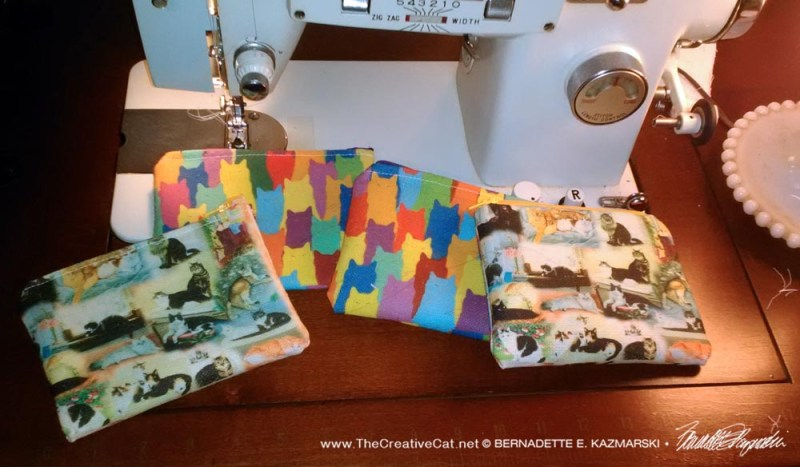 Small Handmade Accessory Bags