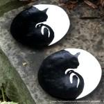 Handmade, Handpainted Curving Silhouette Trinket Dish