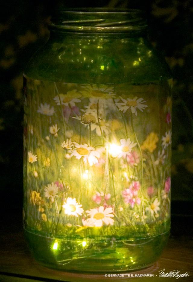 Summer Wildflowers votive.