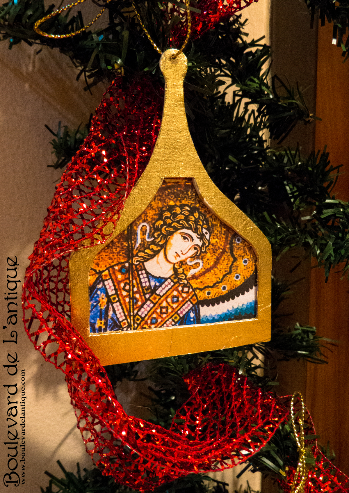 Adornos Navideños Bizantinos / Bizantine Christmas Ornaments