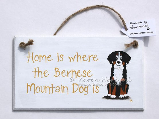 Bernese Mountain Dog Plaque