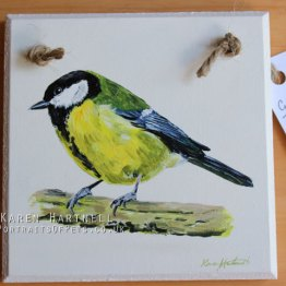 British Bird Painted Plaques