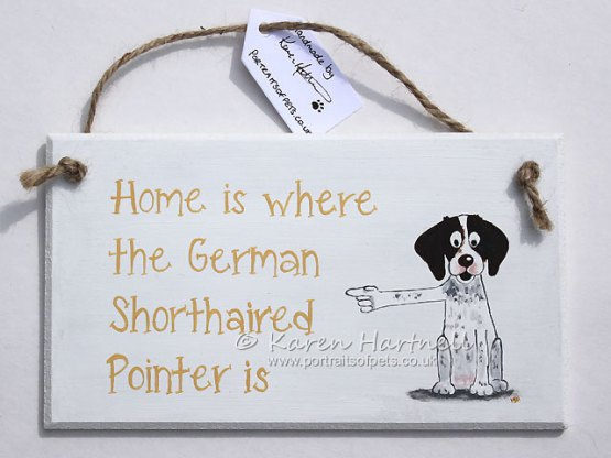 German Short-haired Pointer plaque