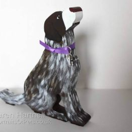 Wooden German Short-haired Pointer