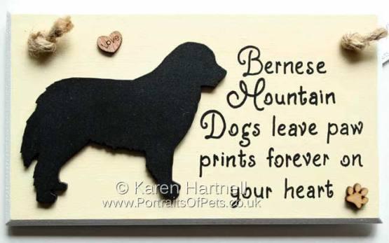 Bernese Mountain Dog Plaque