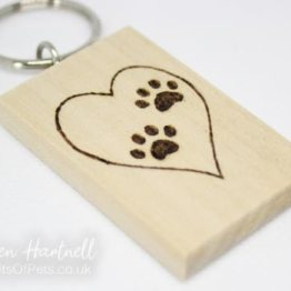keyring-paw-prints-front