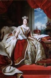 Queen Victoria [ 1819-1901 ] After original by Franz Xaver Winterhalter Contains Parliamentary information licensed under the Open Parliament Licence v1.0
