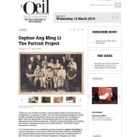 'The Portrait Project' featured in L'OEIL, The Eye of Photography