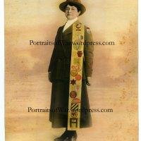 WWI Female Service Studio Photography - Women in WWI