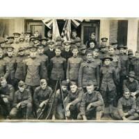 Spencer, Massachusetts WWI Veterans Return Home - 1919 - Panoramic Photo