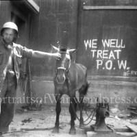 "Korean War ""Kilroy Was Here"" Graffiti - 987th Armored Field Artillery Photo"