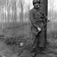 95th Division Mine Sweepers in Action - Metal Detecting in WWII