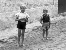 Photographs of German WW2 War Orphans
