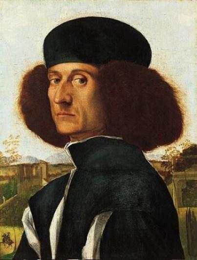 A Venetian Nobleman, ca. 1510 (attributed to Vittore Carpaccio) (1455-1526) Norton Simon Museum, Pasadena, CA F.1965.1.012.P