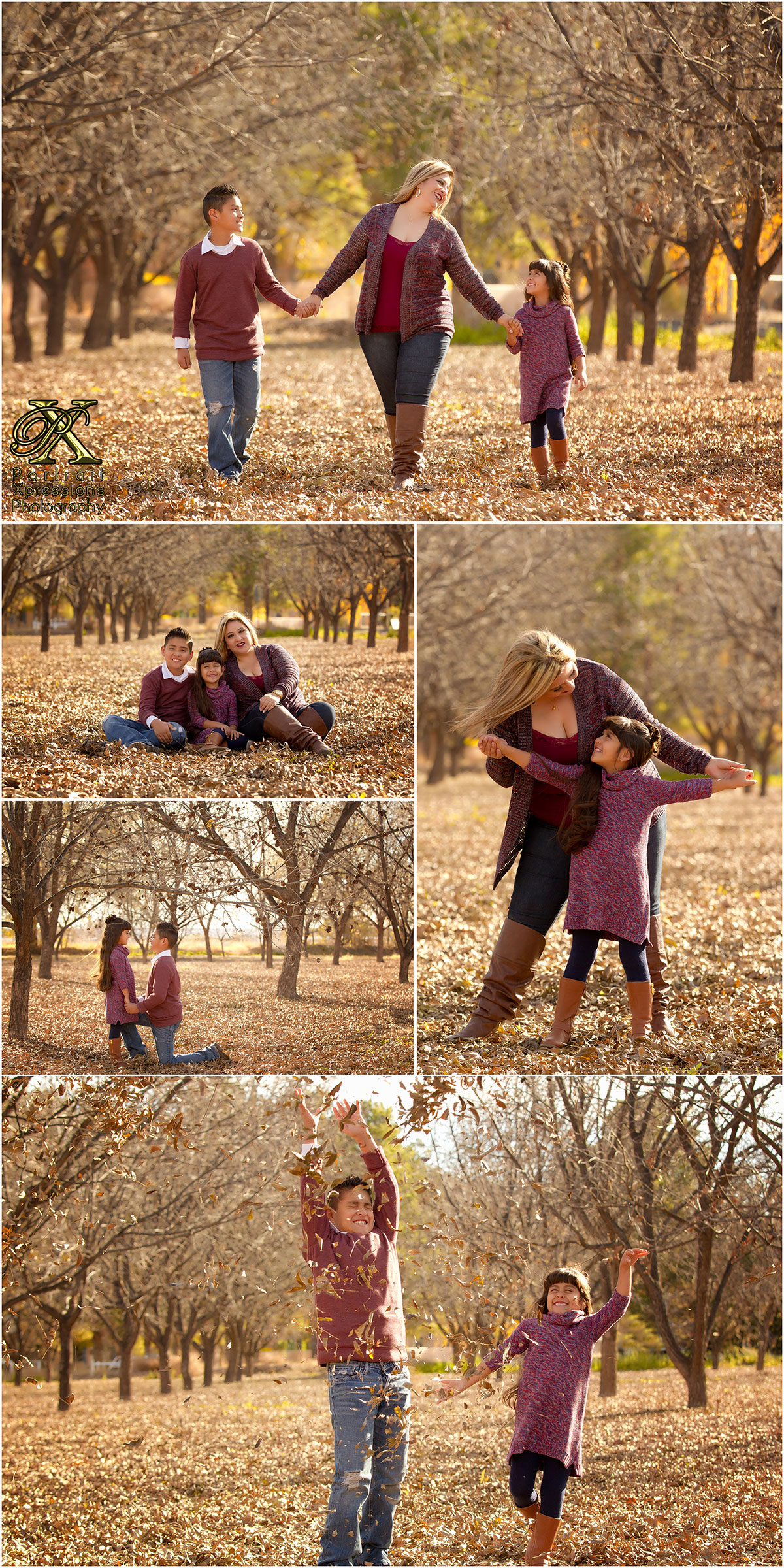 Jessica's Fall Portraits in El Paso