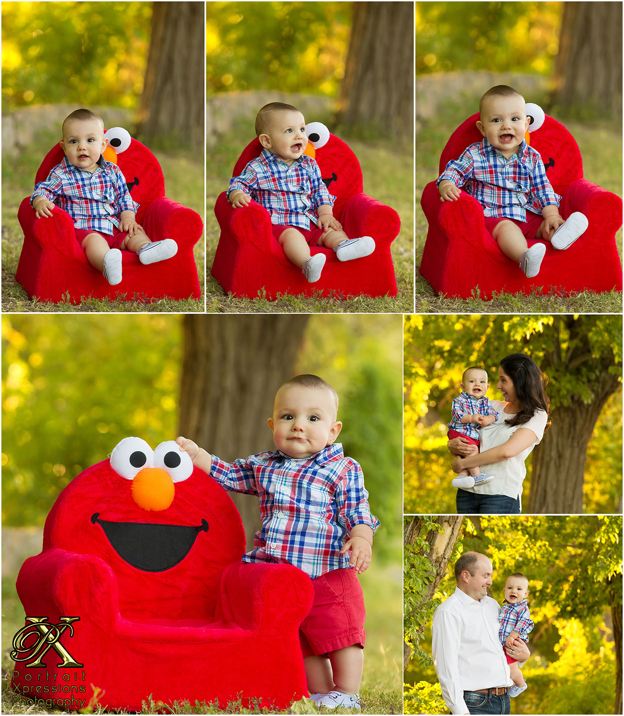 Dylan and Elmo