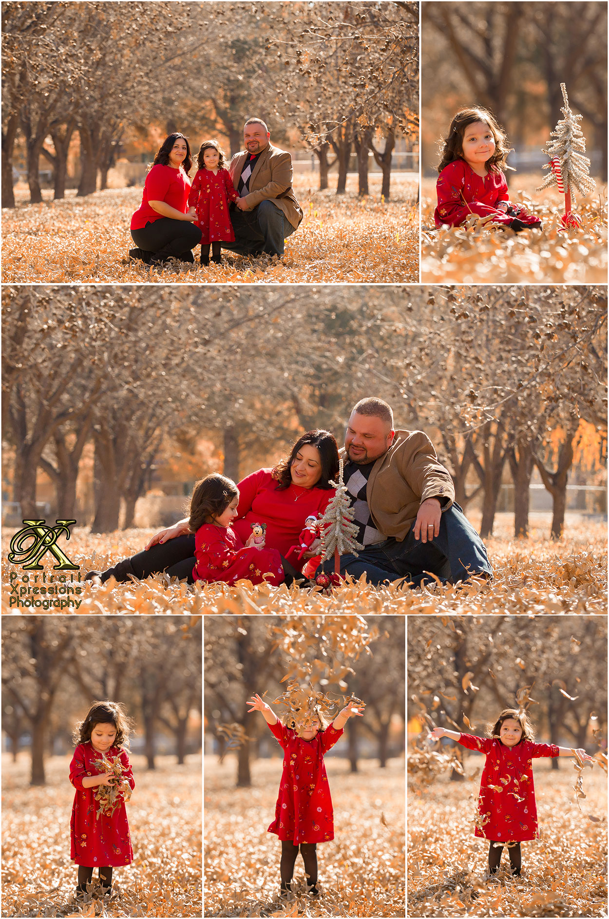 fall family session in El Paso