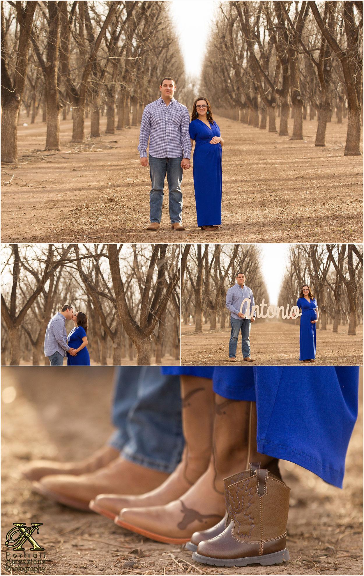 El Paso pregnancy portraits