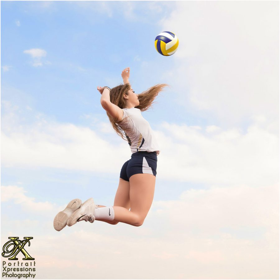 Coronado High School senior volleyball
